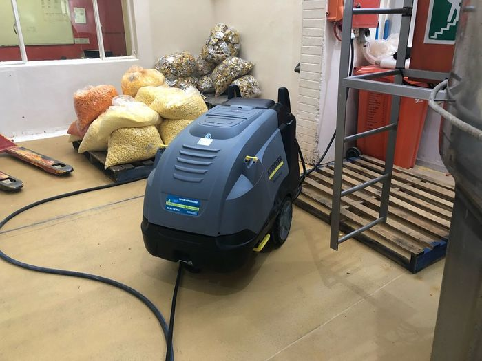 Karcher HDS 8/16-4M 24 kW Nik Naks Food Industry High Pressure Cleaner Karcher Indoors  High Angle View No People Technology Day