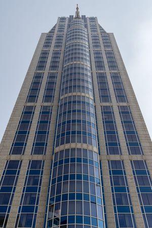 Hotel Manhattan Hotel Rotterdam Tower Cityscape Building Architecture Blue Sky