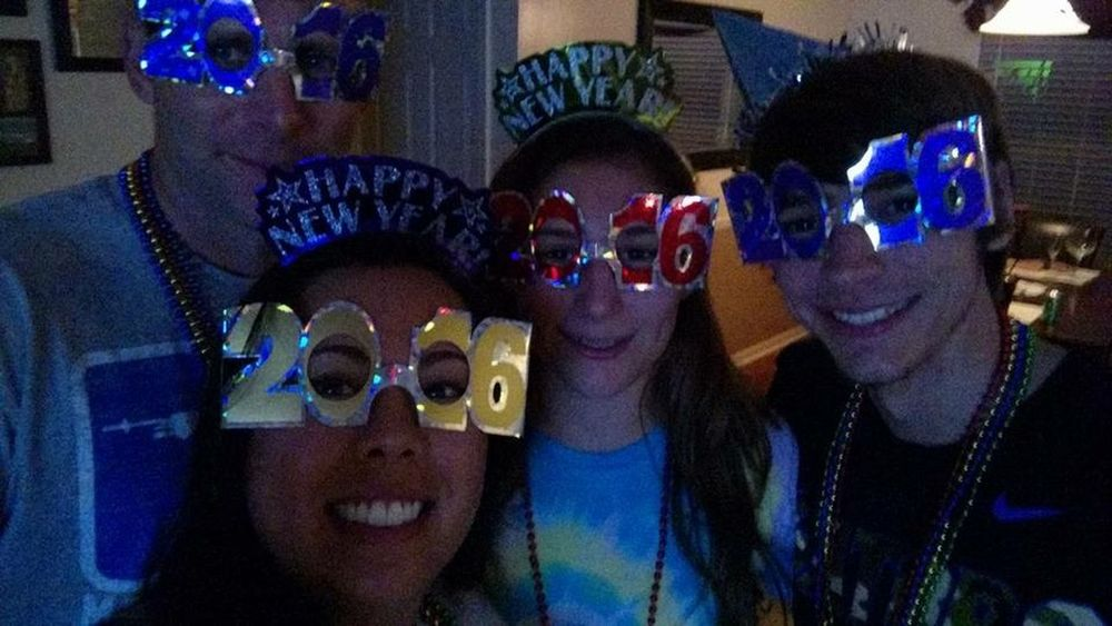 Happy New Year 2026 ... Sweet '16! NewYear 2016 Grateful