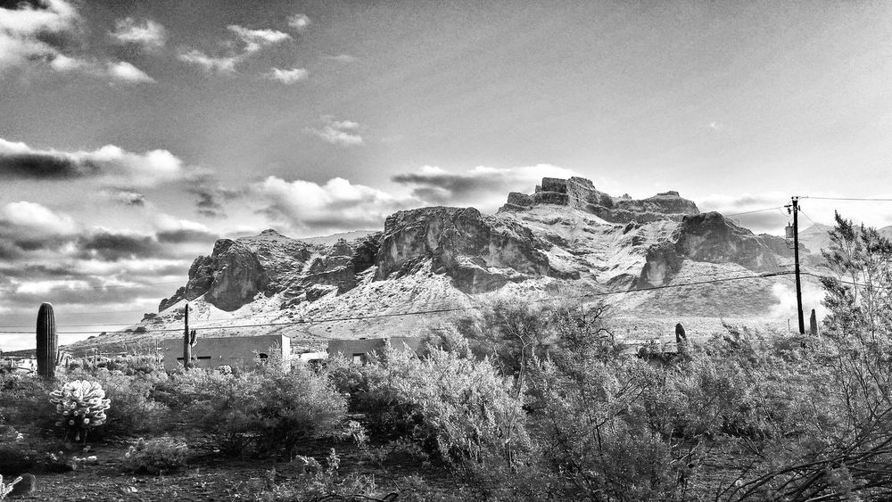 Superstition Mountains With Snow Apache Junction EyeEm Best Shots Hello World Black And White Hi! EyeEm Nature Lover Check This Out Cheese! Enjoying Life