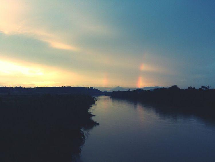 Two beautiful rainbow 感觉真美!