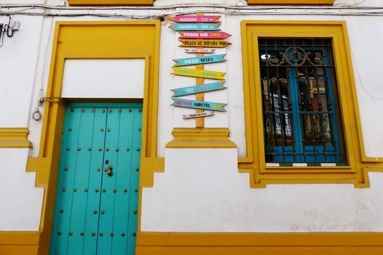 EyeEm Selects Architecture Built Structure Yellow Building Exterior Multi Colored Outdoors No People Day First Eyeem Photo sevilla andalucíaSevilla❤ Sevilha  Seville,spain Sevilla Meetup Sevillagram Sevillaarchitecture Sevilla Tiene Un Color Especial  Sevillagramers Sevilla Tiene Un Color Especial  Sevillahoy Paint The Town Yellow