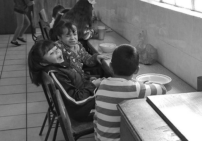 Childrenphoto Blancoynegro Niñosfelices SEP Escuela Convivenciasana Mexicanchildhood Infancia