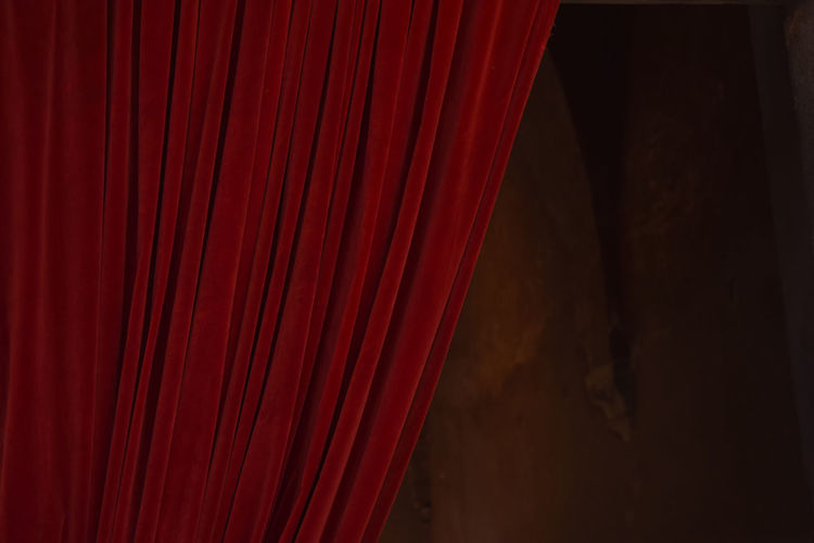 red curtain Red Curtain Film Industry Performance Performing Arts Event Red Curtain Stage - Performance Space Textured  Arts Culture And Entertainment Textile Stage Theater A New Beginning