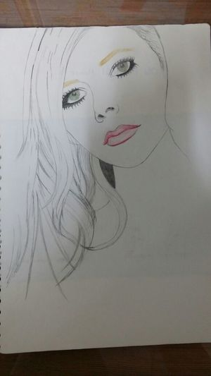 avril lavigne drawing