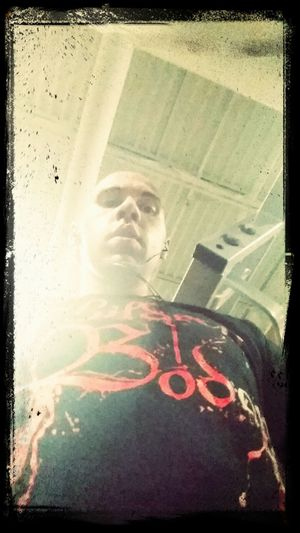 That's Me Taking Photos Children Of Bodom Post Workout