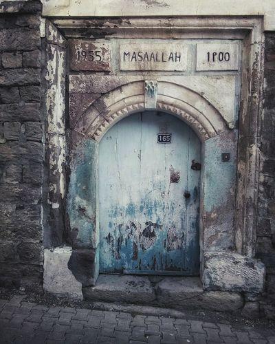Turkey Turkeyphotooftheday Door Oldbeautyfulhouse in turkey