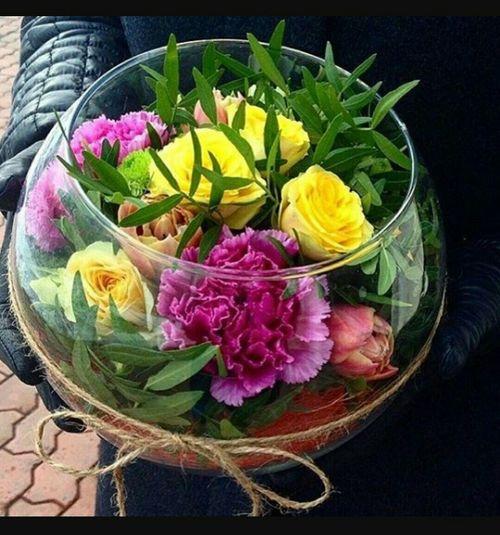 Flower Petal Basket Freshness No People Fragility Close-up Multi Colored Flower Head Indoors  Black Background Day