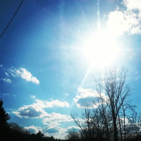 from earlier today Beautifulweather Nature Sky And Clouds Love