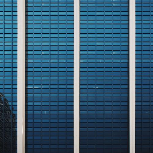Rule Of Thirds Architecture Vscocam Urban Geometry Endlessness Reflected Glory Cobalt Blue By Motorola The Architect - 2015 EyeEm Awards