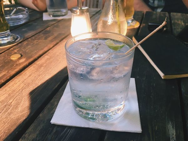 G&T Gin Tonic Fridaynight Alcohol