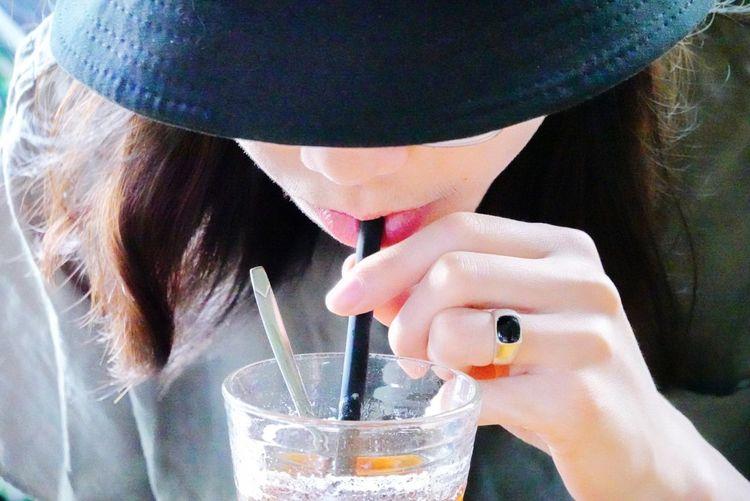 Coffee Nha Strang Vietnam Self Portrait Human Hand Water Drink Nail Polish Beauty Drinking Glass