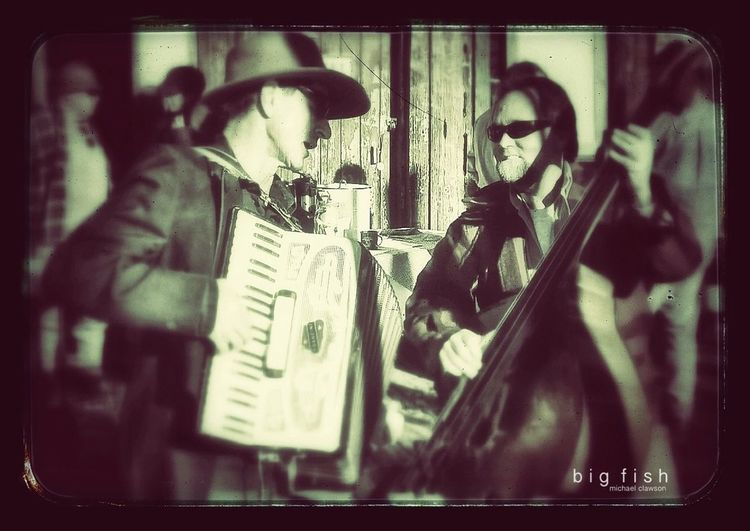 The Musicians. At The Historic Longboard Races, Johnsville, California.