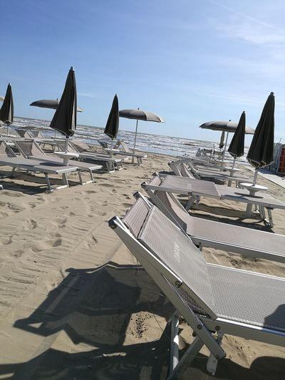 is there somebody?! Italy Italian Beach Sea No Filter Awesome Relax Business Finance And Industry History Beach Sand Sky