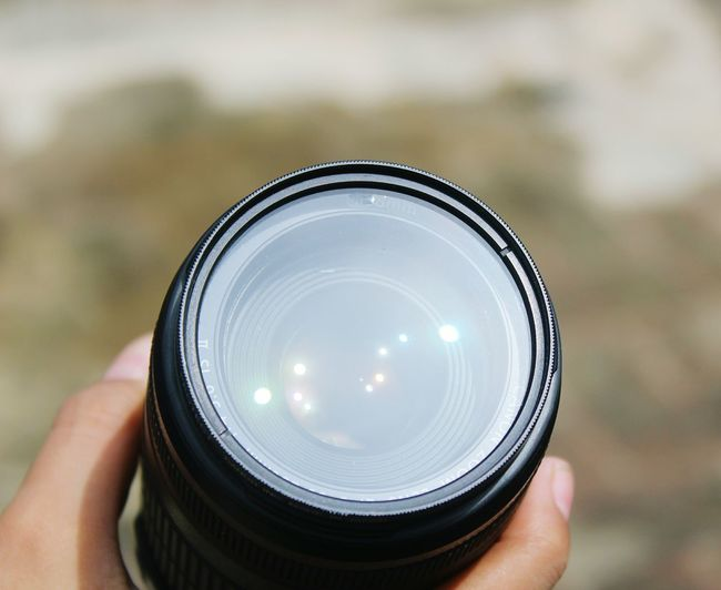 Human Hand Photography Themes Camera - Photographic Equipment Photographing Holding Personal Perspective Human Finger Unrecognizable Person Close-up Lens - Optical Instrument Photographic Equipment Lens - Eye Optical Instrument Vision