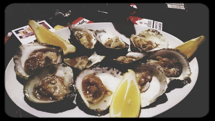 when your in Yerseke you hv some Oysters