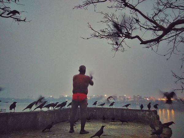 His morning ritual... Redmi2Prime Redmi Redmiclicks Earlymorning  _soi Ig_calcutta India Kolkata Incredibleindia Indiapictures Indiaclicks Storiesofindia Streetsofkolkata Streetphotography Streetsofindia Instagrammers Dailylifeindia Indiadaily Snapseededit Snapseed Desi_diaries Pixelpanda_india Mobilephotography Ig_indiashots Click_india ig_india pixelpanda_india natgeoindia akhara kusti wrestler