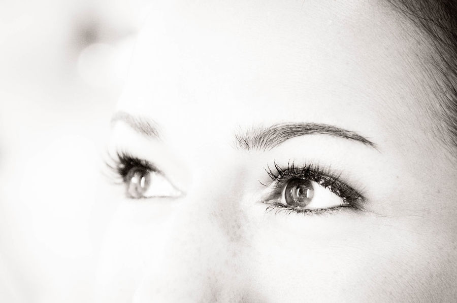 Adult Black And White Close-up Day EyeEm Best Shots Eyes Human Body Part One Person One Woman Only Part Of Face People Real People View Women Young Adult