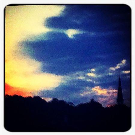 Sunset Brightcolors Good Morning!
