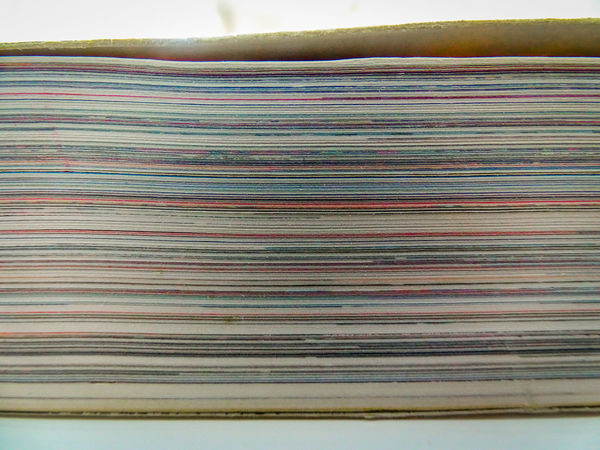 Book Close-up Colorful Colors Page Pages Paper Stack Thick
