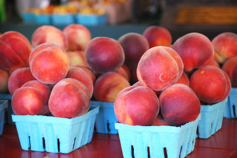 Ripe farm stand peaches Farmers Market Yakima WA Abundance Basket Container Farmstand Food Food And Drink For Sale Freshness Fruit Fruits Healthy Eating Market Market Stall Peach Peaches Peaches🍑 Retail  Retail Display Ripe Still Life Summer Wellbeing
