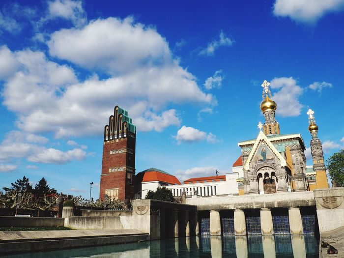 Architecture Sky Travel Destinations City Tower Tourism Outdoors Cloud - Sky History Water