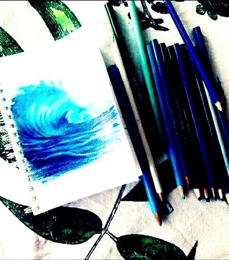 Mavi Boya Kalemleri Resimyapma Resim Eyemphotography Eyem Gallery Eyemphotos