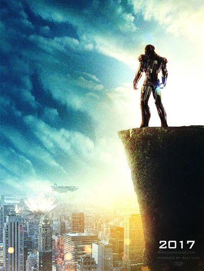 Iron Man Ironman4 Avengers Poster