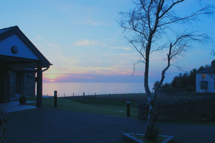 Wales Sunset Nature Landscape Sublime