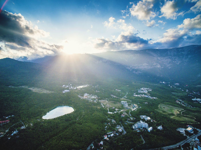Autumn Crimea Day Dji Mountains Outdoors Phantom Photography Sky Sunlight Travel Traveling Vacation