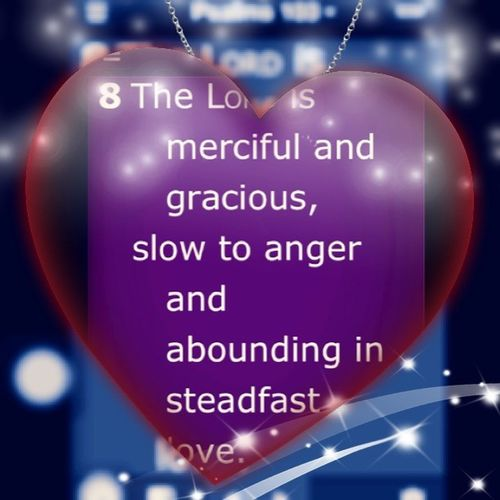 Devotion Psalm103 :8 Verse2013 ❤📖💒😃😊😂😱