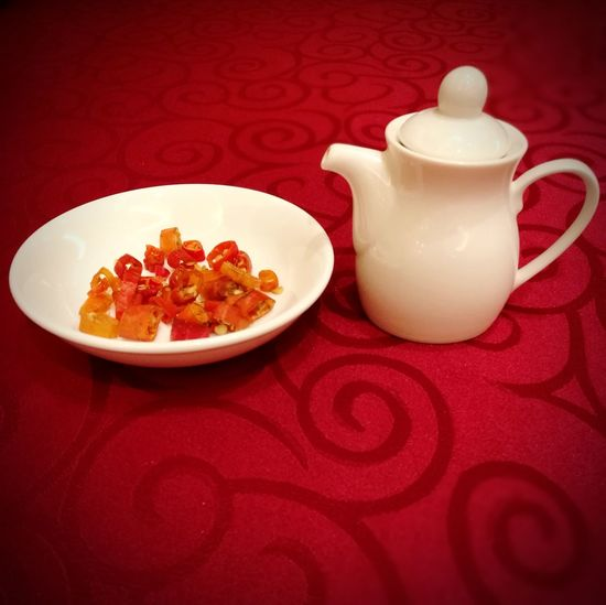 Soy Sauce Chili  Cultures Porcelain  Indoors  Asian Food