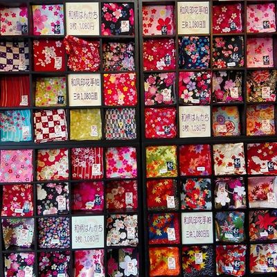 handkerchief Osakacastle OSAKA Japan Japaneseculture Sakura Cherryblossom