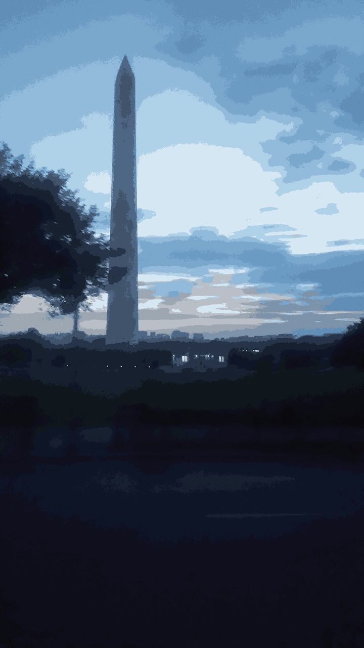 Washington Monument Against Sky