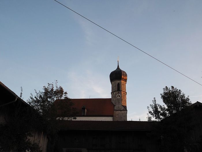 Bavarian Church Church Religion Evening