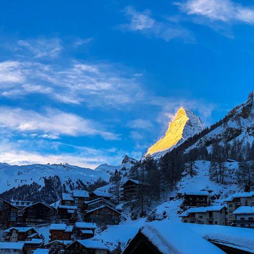 Matterhorn Snow