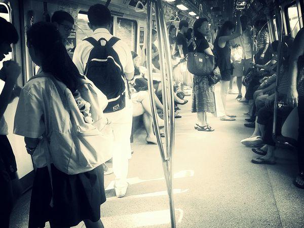 Streetphotography Blackandwhite Public Transportation Peoplephotography
