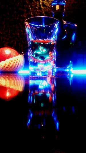 ( *・ω・)ノ whisky Whisky Bar Malt Japanese Whisky 響 Colorful Light Light And Shadow Lightroom Japan From My Point Of View Enjoying Life Hello World EyeEm Gallery EyeEm Blue Glass_collection Fruit Bottle
