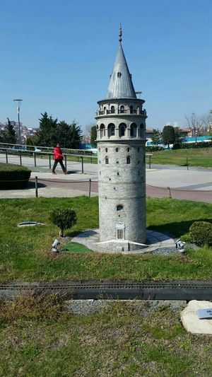 ıstanbul Miniturk Galata Kulesi