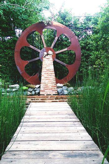 Wheel Water Wheel Scenery Deck Reeds Relaxing EscapeTheCity