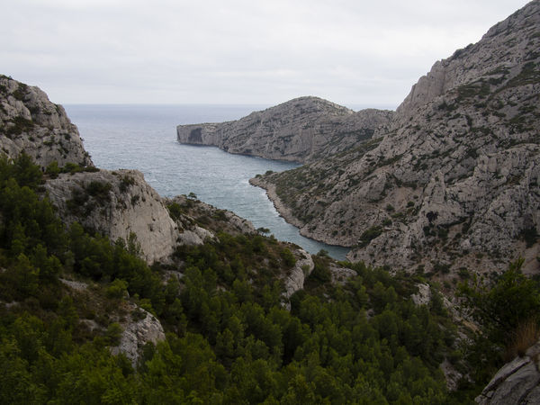 Beauty In Nature Calanques  Calanques De Marseille Cliff Coastline Day Landscape Marseille Nature No People Outdoors Rock - Object Scenics Sea Steep Tranquil Scene Tranquility