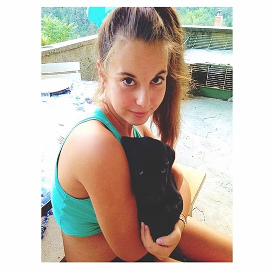 Welcome home littel dog 🐾 Leelou
