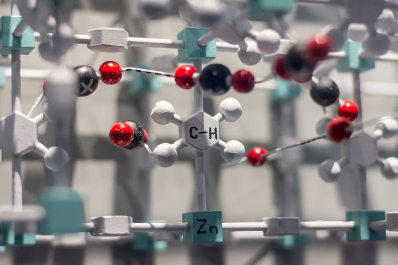 Model of a chemical structure