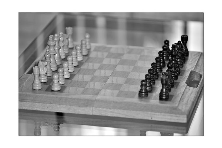 Board Games 3 Games People Play Chess Board Chess Brain Game Mind Sport Board Game Table Game Challenge Match Abstract Strategy Tactics Logic 6th Century A.D. Bnw_friday_eyeemchallenge Bnw_repetition Patterns Board : 64 Squares 8 Ranks × 8 Files 2 Players 16 Chess Pieces Each Monochrome Monochrome_Photography Black & White Black & White Photography Black And White Black And White Collection  Alternating Light & Dark Grid