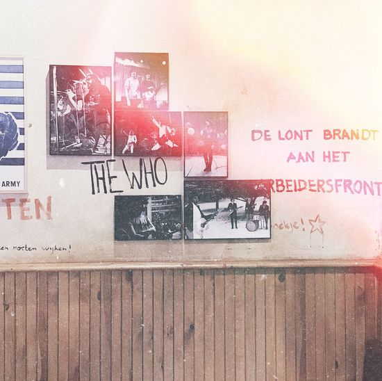 The who Architecture 60s 60s Music Thewho Oldbands Oldschool 60s Style Arts Culture And Entertainment Brick Wall Wallpainting Wall Art EyeEm Diversity