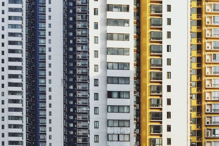 Architecture Building Exterior Built Structure City No People Outdoors Modern Residential Building Day Skyscraper