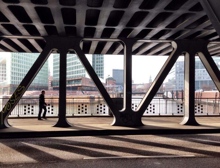 Bridge Hamburg Architecture The Purist (no Edit, No Filter)