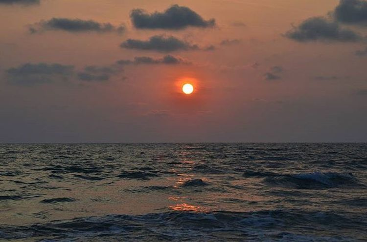 Kohchang Sunset Thailand Landscape Sea Ocean Sky Clouds Water Travel Travels Travelingram Paradise Paradisebeach Nature Naturelovers Thailandluxe