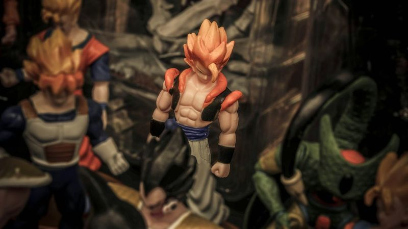 you can't beat me! Dragonballz Anime Toysphotography Toys In The Attic Toys