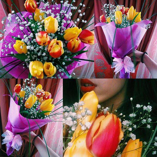 С праздникоооооооом. 🎉👑 секунда счастья.❤🌺 спраздником восьмоемарта цветы Vscocam vsco